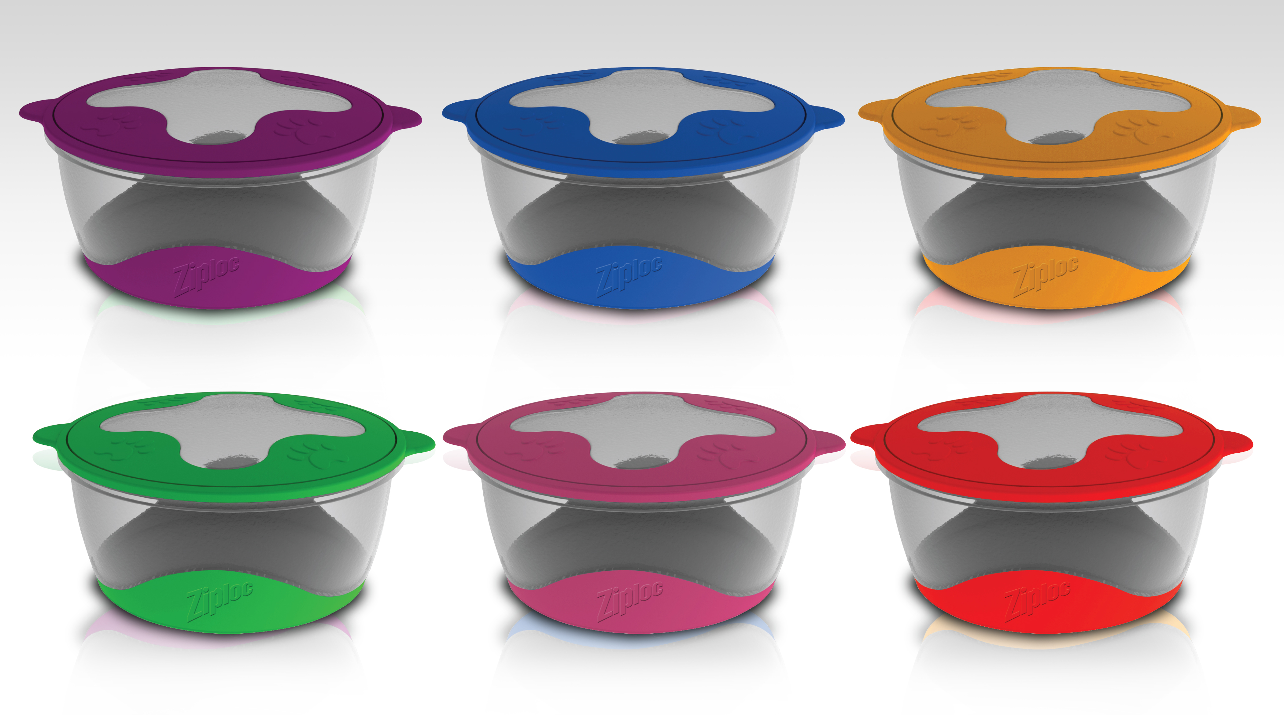 Industrial design of tupperware style products with product design precision