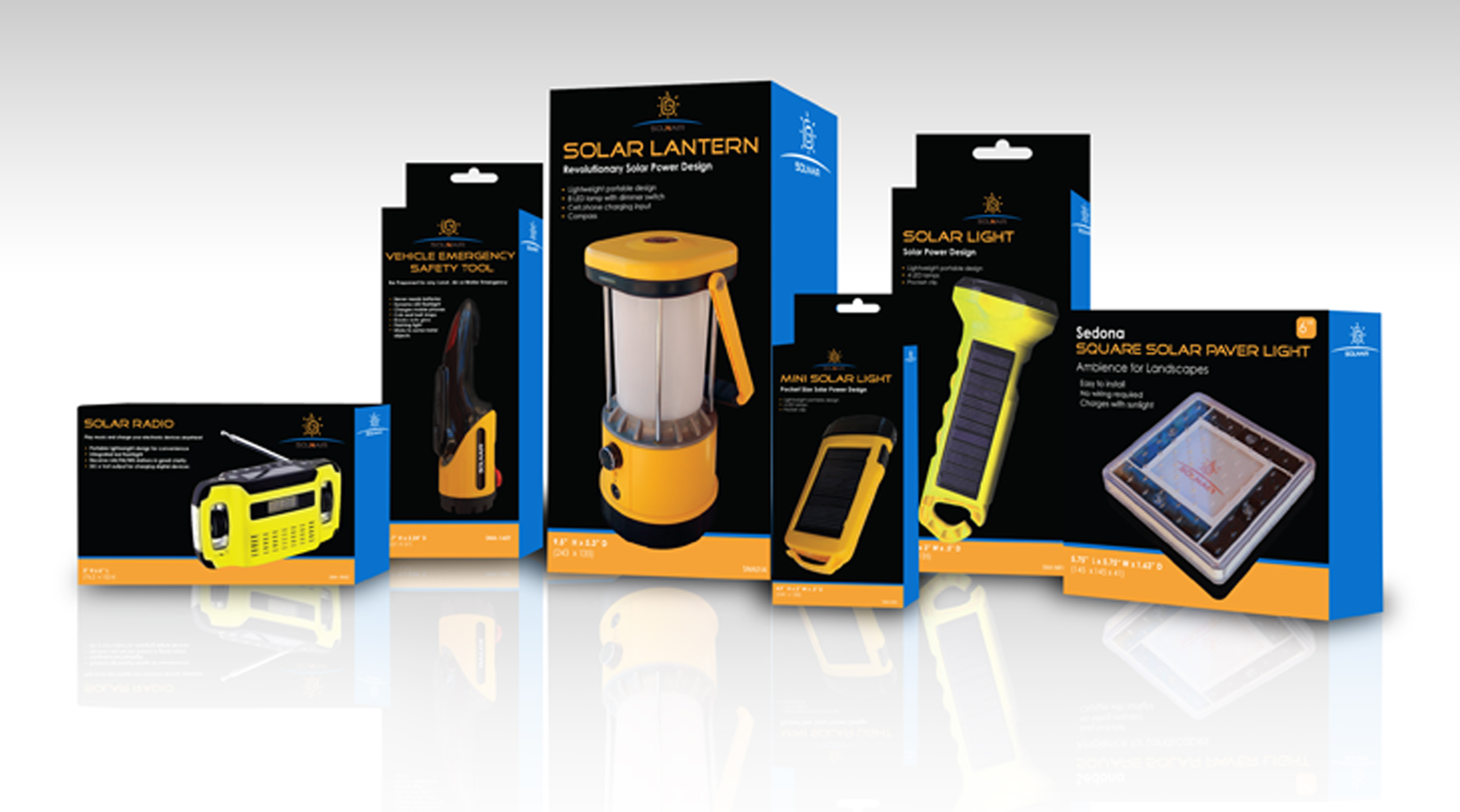Avadium packaging design of solar power products using innovative technology